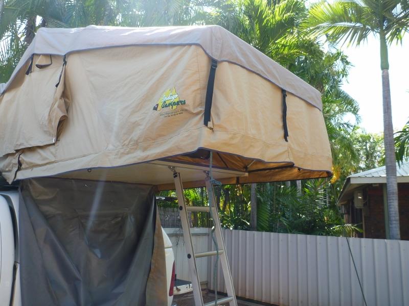 roof top tent erected & Ebay Indigo Campers Roof Top Tent Review u2013 outbackjoe