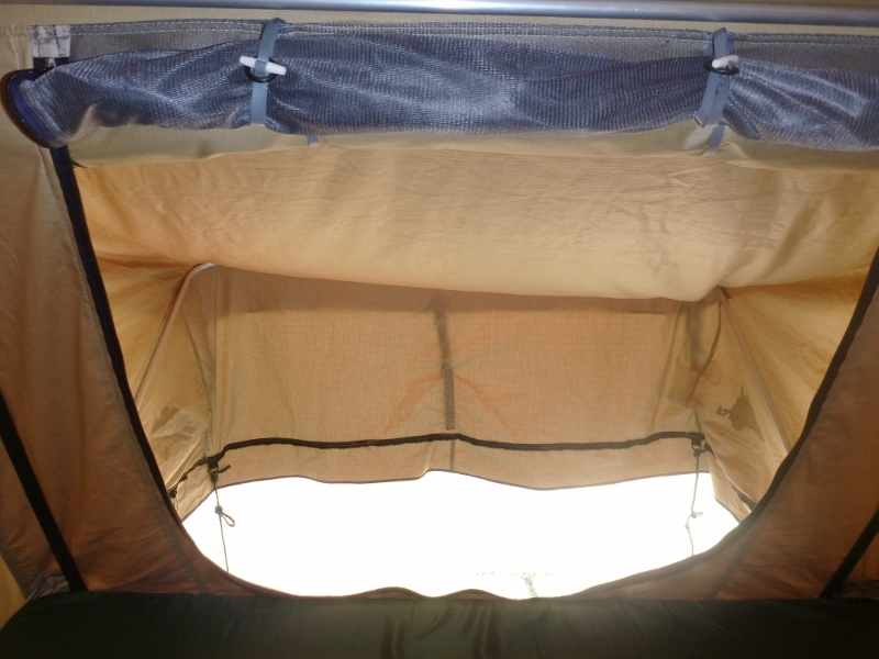 roof top tent exit