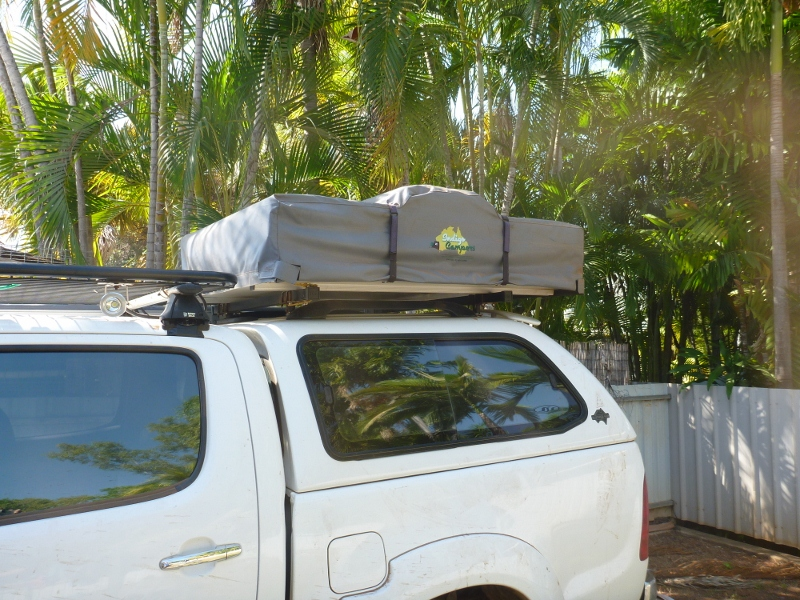 roof top tent folded & Ebay Indigo Campers Roof Top Tent Review u2013 outbackjoe