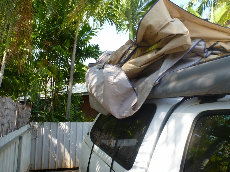 roof top tent needs tucking & Ebay Indigo Campers Roof Top Tent Review u2013 outbackjoe