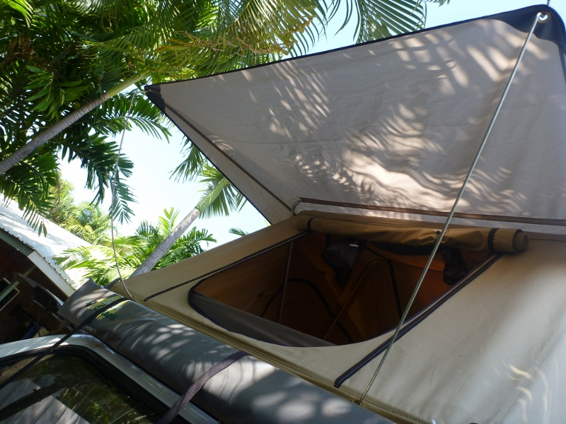 roof top tent rear opening
