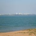 view of Darwin from Mandorah Beach Hotel