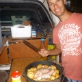 daly river camp oven roast chicken