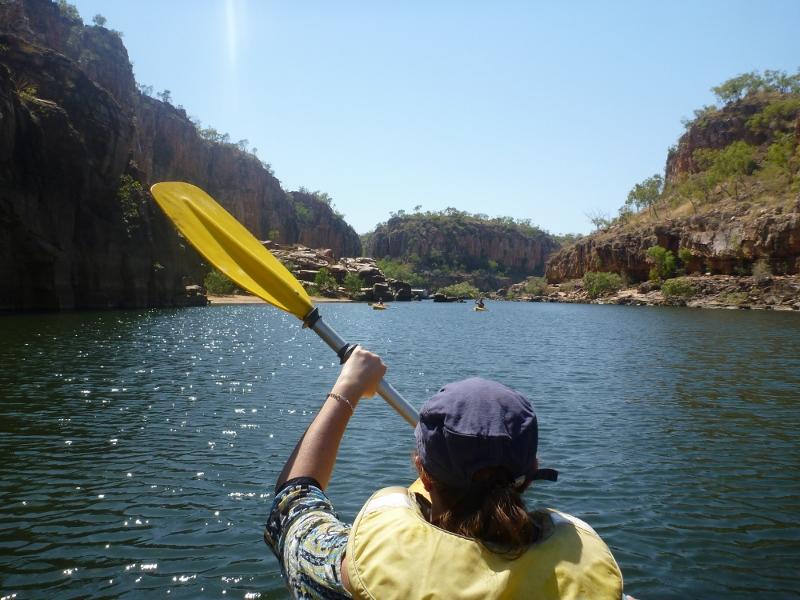 katherine gorge canoeing