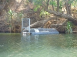 katherine gorge crocodile trap