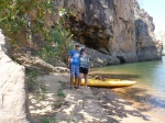 katherine gorge stopped on a beach