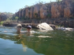 katherine gorge time for a swim