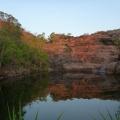 surprise creek at dusk