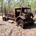 west alligator head old truck