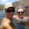 edith falls swimming)