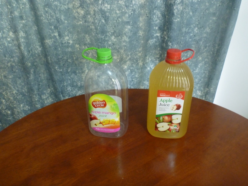 inoculated apple juice
