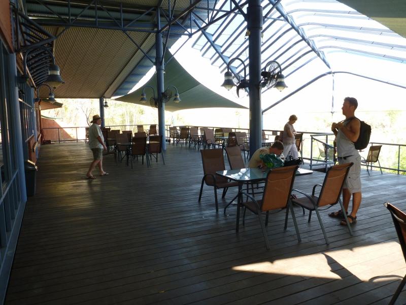 katherine gorge sugar bag cafe outside
