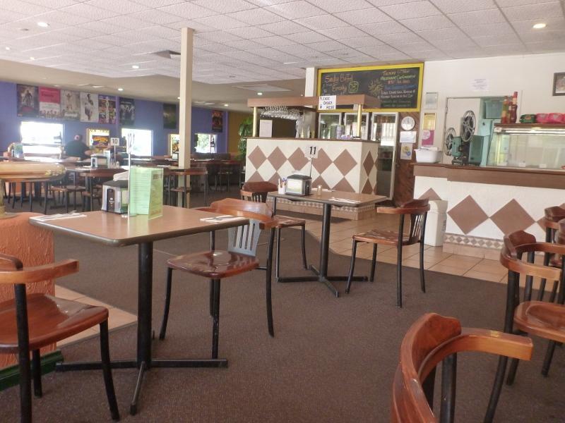 silver screen cafe inside
