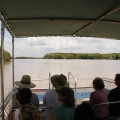 view from jumping crocodile boat