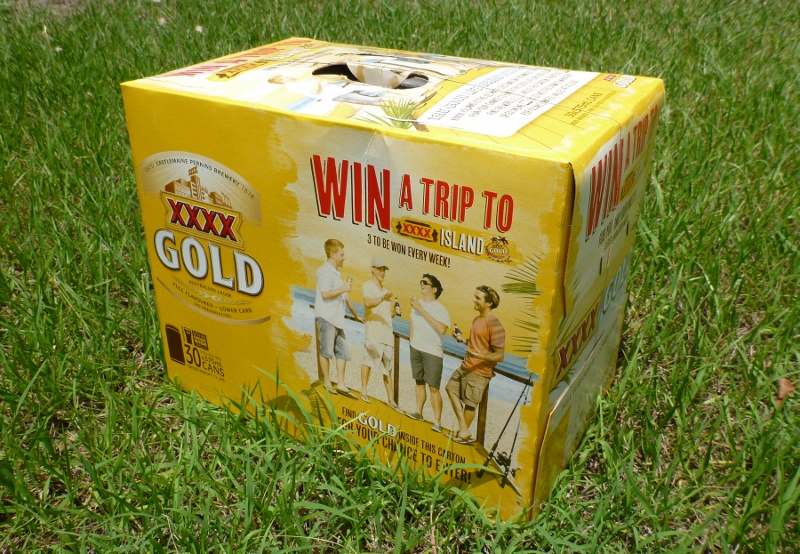 XXXX Gold 30 Can Block of Beer