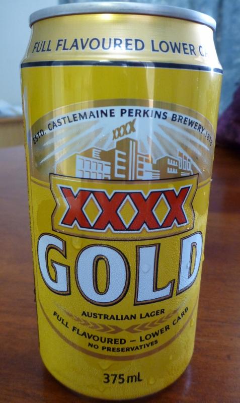 XXXX Gold Beer