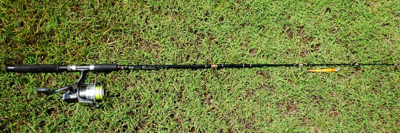 6 foot two piece penn river rod