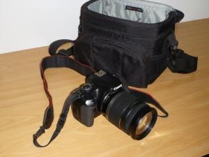 Canon 450D DSLR camera