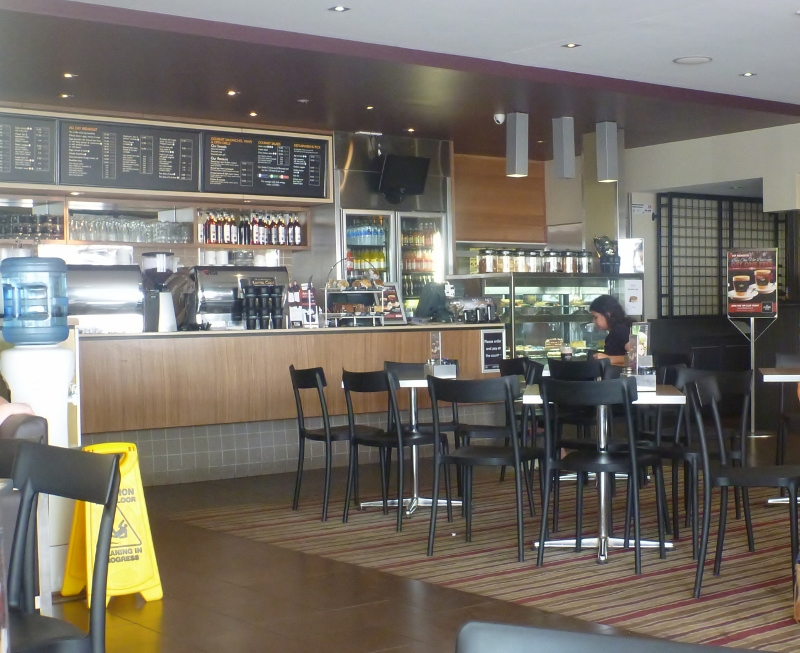 coffee club inside