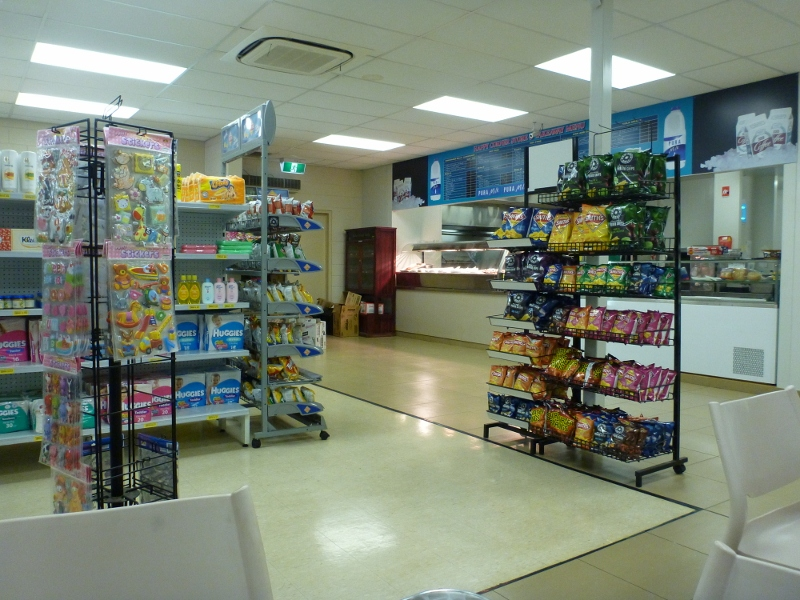 happy corner store inside