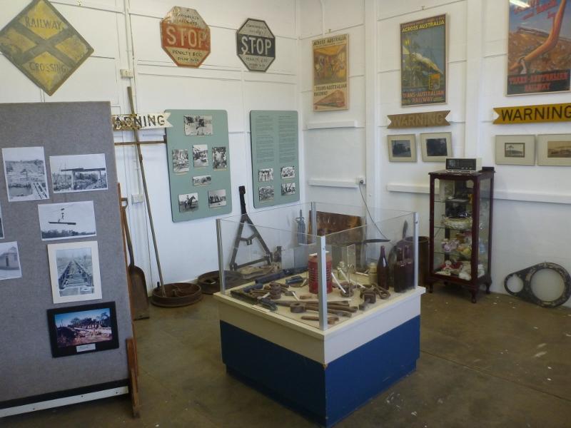 katherine railway museum inside