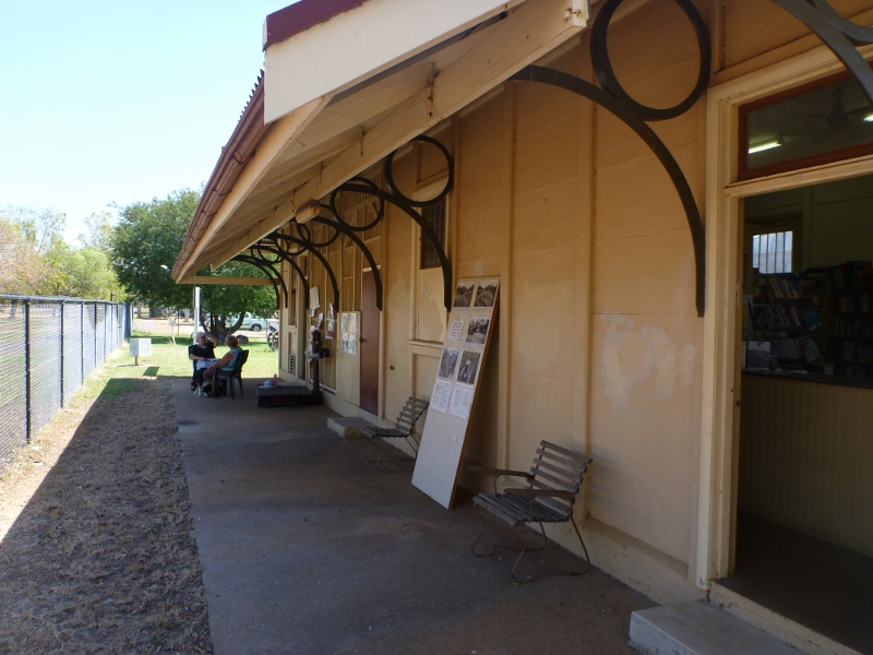 katherine railway museum outside