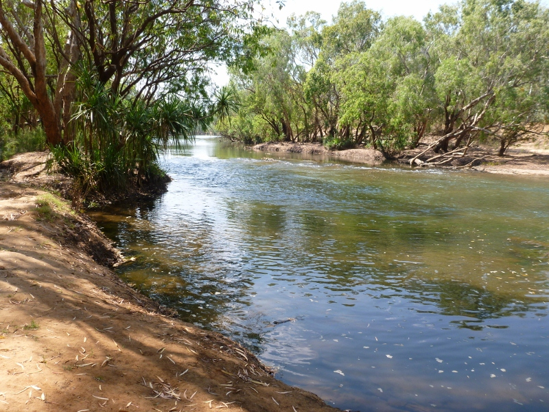 katherine river at crystal rapids