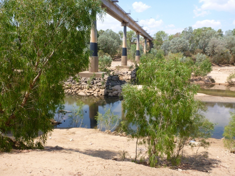 katherine river new rail bridge