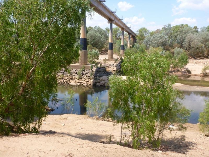 katherine river new rail bridge