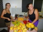 processing mangos