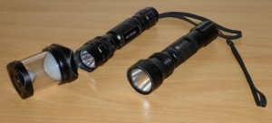 SSC P7 900 lumen torches