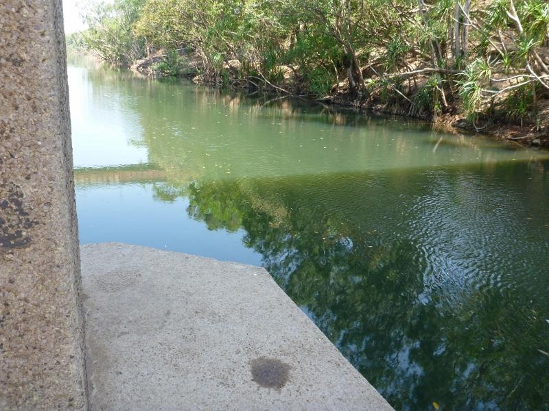stuart hwy bridge pilon katherine river