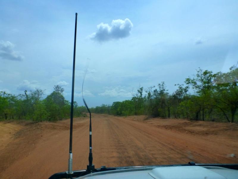 broken antenna on nathan river road