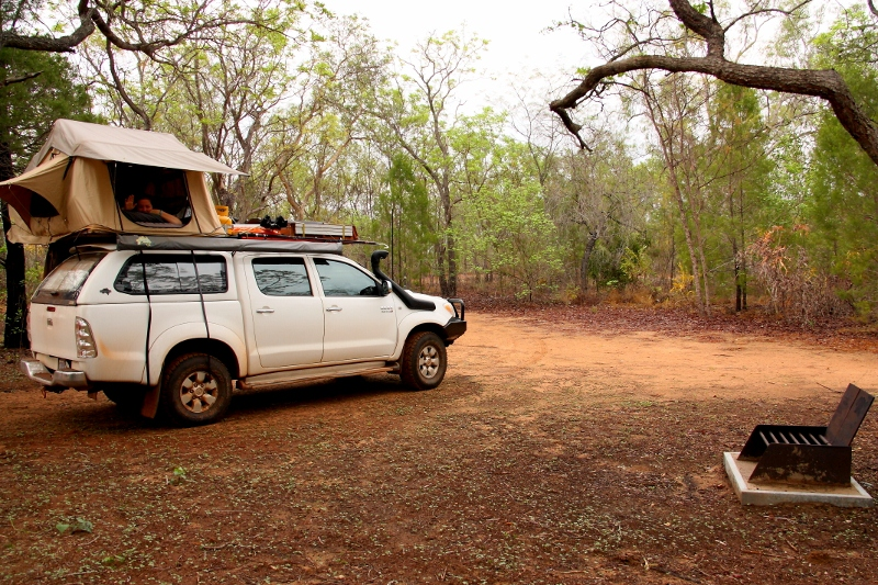 towns river camping area, limmen river national park
