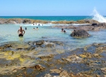 champage pools, fraser island