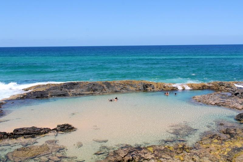 Champagne Pools Fraser Island Outbackjoe