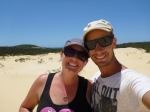 fraser island on top of sandblow
