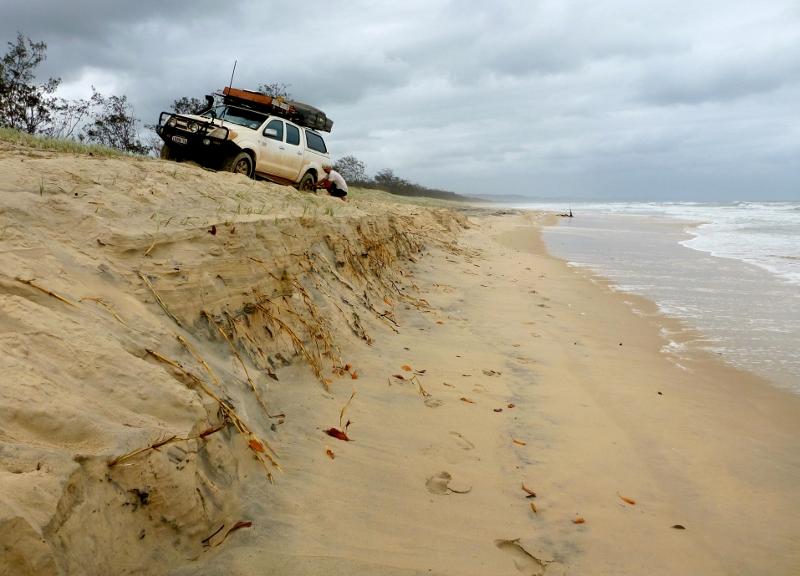 Fraser Island Erosion