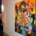Joe interpreting modern art