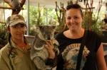 koala with sharni