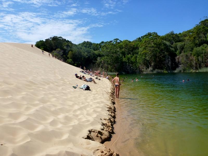 Lake Wabby, Fraser Island – outbackjoe