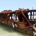 maheno wreck, fraser island