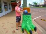 winton dinosaur themed bin