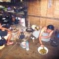 cooking dinner karen people tribe