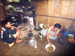 cooking dinner karen people tribe