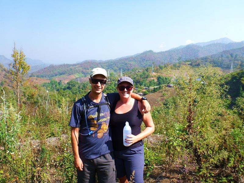 thai highlands trekking