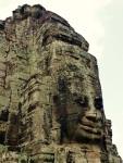 angkor thom tower sculpture