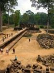 angkor thom view down