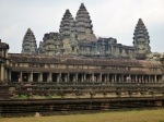 angkor wot main towers