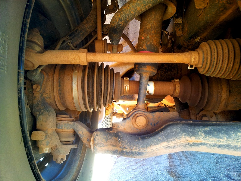 hilux stock suspension